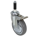 "5"" Swivel Stem Caster w/Brake"