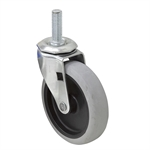 "4""x1"" Swivel Threaded Stem Caster"