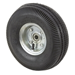 4.10/3.50-4 Wheel/Tire Assembly Sawtooth Tread