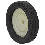 "11"" x 2-1/2"" White Geared Wheel w/o Bearing"
