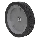 12x3 Gray, Rubber Tire w/Geared Wheel