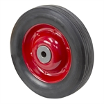 8 x 1.75 Solid Rubber Tire on Steel Wheel