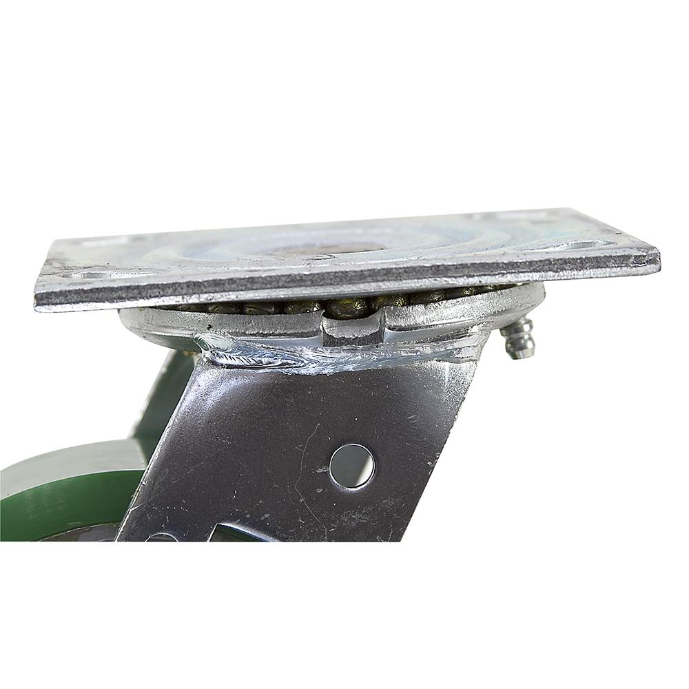 86f6abd9d037 5 x 2 Albion Swivel Plate Polyurethane Caster w/Brake