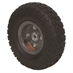4.10/3.50-4  Gray Wheel And Tire Assembly