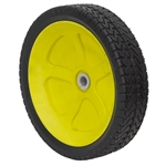 "11-1/2"" x 2-3/4"" WHEEL YELLOW w/GEAR"