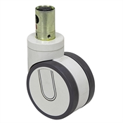 100mm x 60mm Tente Round Stem Swivel Caster 2946 UAP 100 R36-32S30 9002