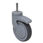 "5"" x 1-1/4"" Tente Grip Ring Swivel Caster 5377 PJP 125 B10"