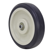 "5"" x 1-3/16"" Dark Blue Polyurethane Wheel"