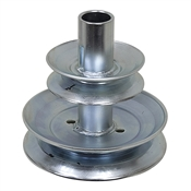 5.25/3.5 Dual Pulley for Mower Engines