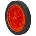 10 x1.75 Wheel w/Orange Rim - Alternate 1