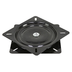 Swivel Plate Ball Bearing Turntable Gloss Black