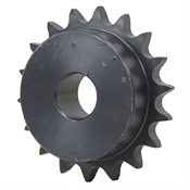 18 Tooth 1 Bore 50 Pitch Sprocket w/o Setscrews or Keyway