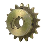 "17 Tooth 3/4"" Bore 40 Pitch Roller Chain Sprocket"