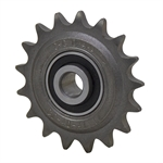 "17 Tooth 1/2"" Bore 41 Pitch Idler Roller Chain Sprocket"