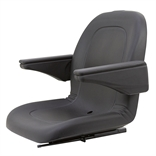 Deluxe Ultra High Back Seat with Armrests 120002BK