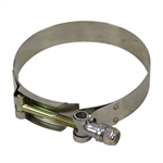 "3.63"" T-Bolt Hose Clamp HC295 3.41-3.72"