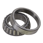 "1.50"" ID 2.56"" OD 0.71"" Wide Cup/Cone Tapered Roller Bearing Set Dura-Roll LM29749/LM29710"