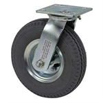 "8"" Pneumatic Swivel Plate Caster"