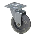"3""x7/8"" Swivel Plate Translucent Tread Caster"