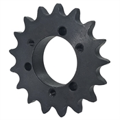 25 Tooth 40 Pitch QD Bushed Bore Roller Chain Sprocket 40SH25H