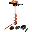 "120V Lithium Ion Battery 8"" Ice Auger Kit Trophy Strike 106482"