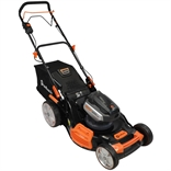 22 Inch 120-Volt Cordless Self-Propelled Lawn Mower Redback Power 107479