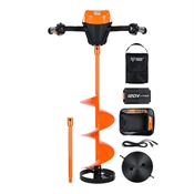 "120V Lithium Ion Battery 10"" Ice Auger Kit Trophy Strike 108180"