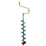 "Nils USA 8"" Hand Ice Auger - NMPE-800"
