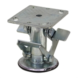 "4"" Floor Lock For Use w/ 4"" Caster Wheel"