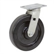 "8"" x 2"" Swivel Phenolic Plate Caster WC6680-01-PHN"
