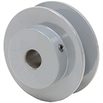 2.45 OD 1/2 Bore 1 Groove Pulley