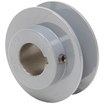 2.45 OD 3/4 Bore 1 Groove Pulley