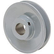 3.75 OD 3/4 Bore 1 Groove Pulley