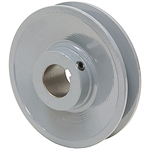 3.75 OD 7/8 Bore 1 Groove Pulley