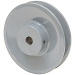 4.45 OD 1/2 Bore 1 Groove Pulley