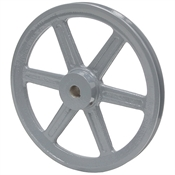 4.95 OD 5/8 Bore 1 Groove Pulley