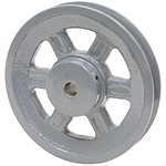 5.25 OD 1/2 Bore 1 Groove Pulley