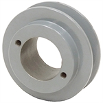 3.35 OD H-Bushing Single Groove Pulley