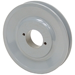 4.45 OD H-Bushing Single Groove Pulley