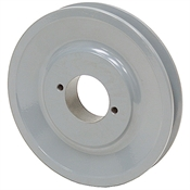 6.25 OD H-Bushing Single Groove Pulley