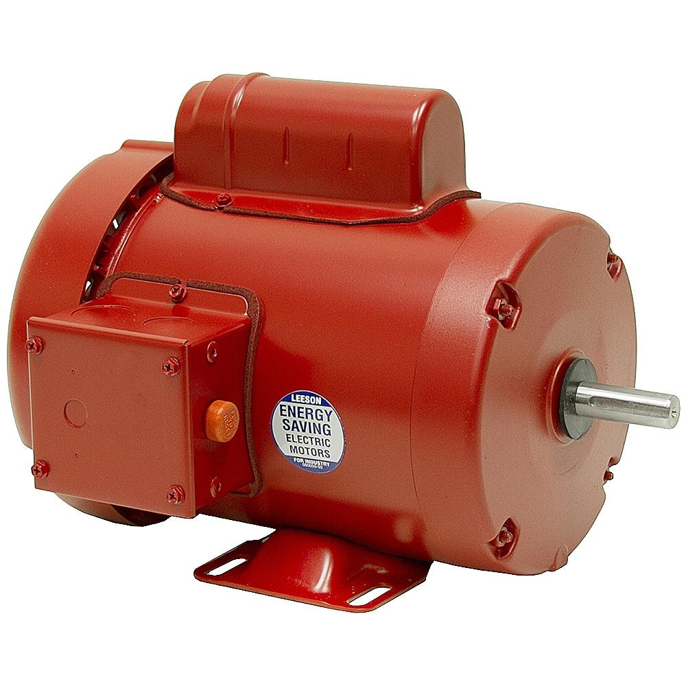 1 Hp 115  230 Volt Ac 1725 Rpm Leeson Farm Duty Motor