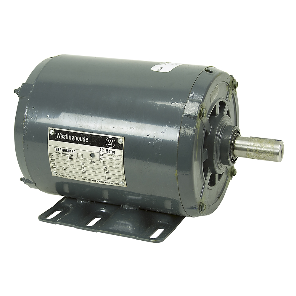 Hp 1 hp 1140 rpm 1725 rpm 230 vac westinghouse 2 for 2 speed single phase electric motor