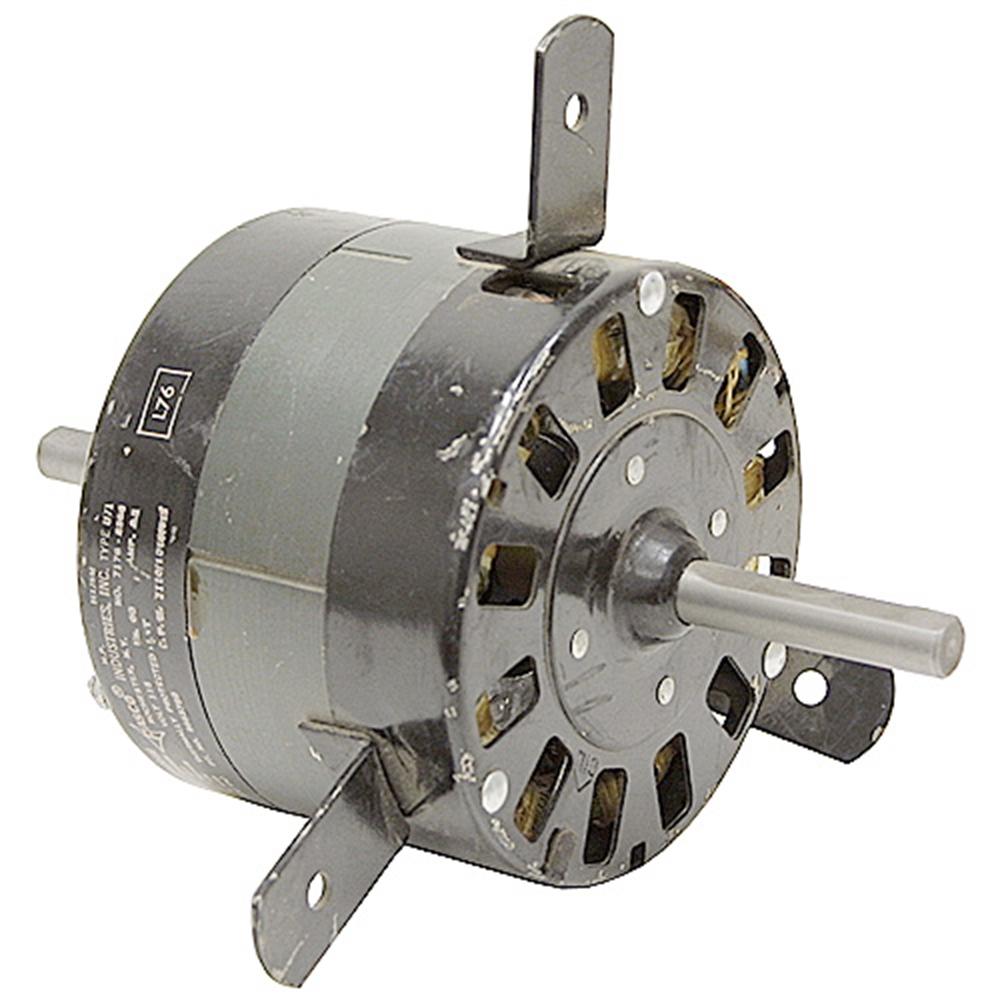 1 20 Hp 115 Vac 1110 Rpm 3 Speed Dual Shaft Fan Motor