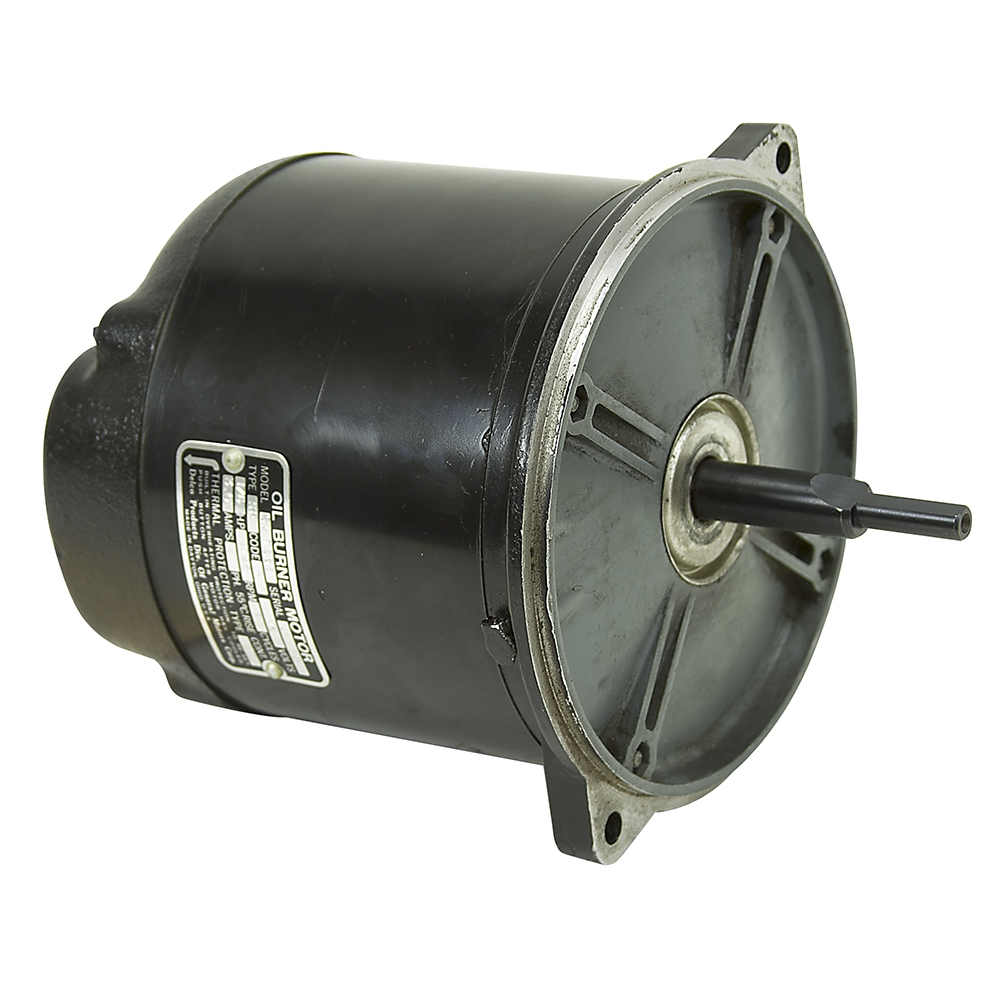 1 6 hp 1725 rpm 115 vac delco oil burner motor sa7863 for Oil furnace motor cost