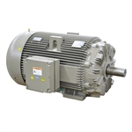 132 KW (177 HP) 995 RPM 400/690 Volt AC 3Ph General Electric Motor