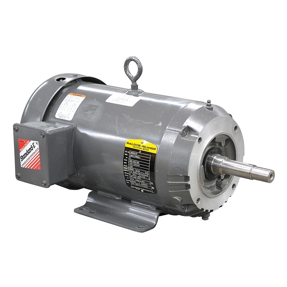 5 hp 1750 rpm 208 230 460 vac 3ph baldor electric motor for 5 hp ac motor