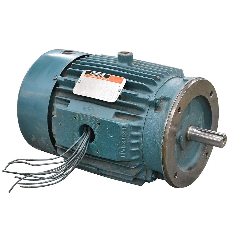 3 HP 1730 RPM 208/460 Volt AC RELIANCE MOTOR 180TC | 3 Phase Motors ...