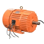 20/10 HP 1705/855 RPM 575 Volt AC 3Ph General Electric Motor