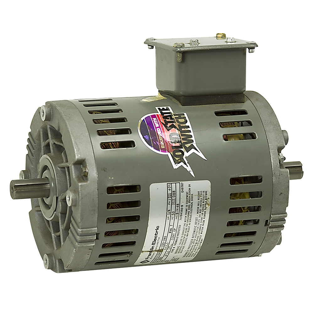 1 4 hp 2960 rpm 220 240 volt ac motor franklin electric