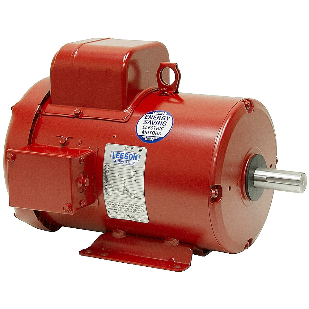 5 hp 230 volt ac 1740 rpm motor leeson brands www for 5 hp ac motor